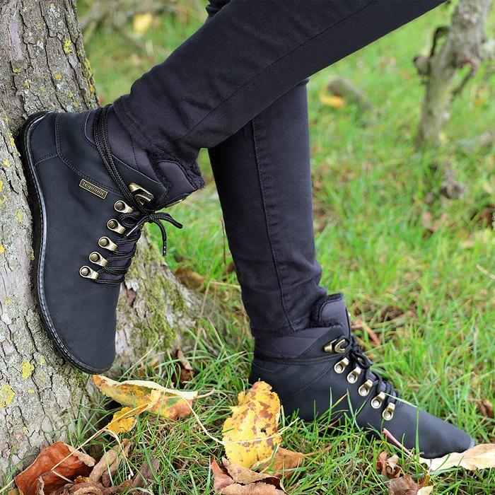 chaussures minimalistes sensations pieds nus pour l'hiver